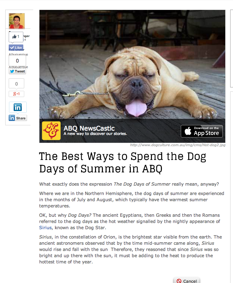 The Best Ways to Spend the Dog Days of Summer in ABQ