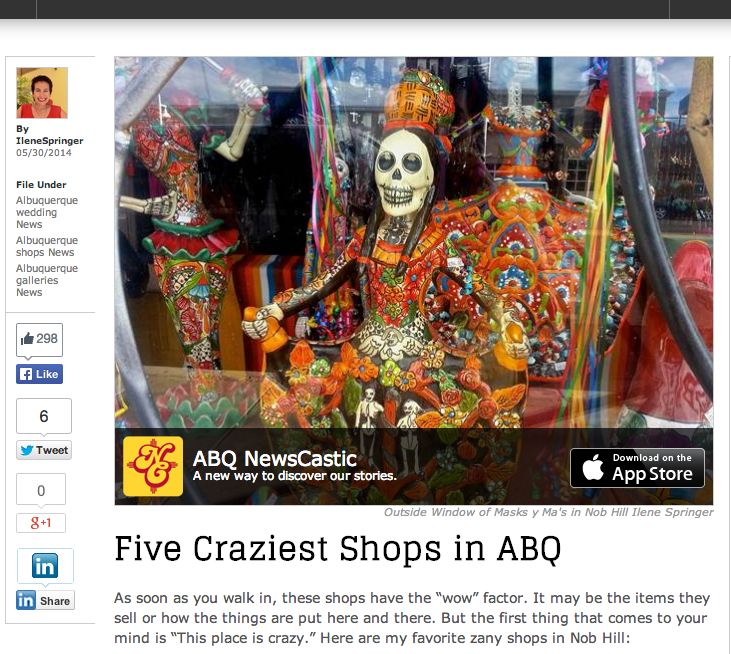 Five Craziest Shops in ABQ