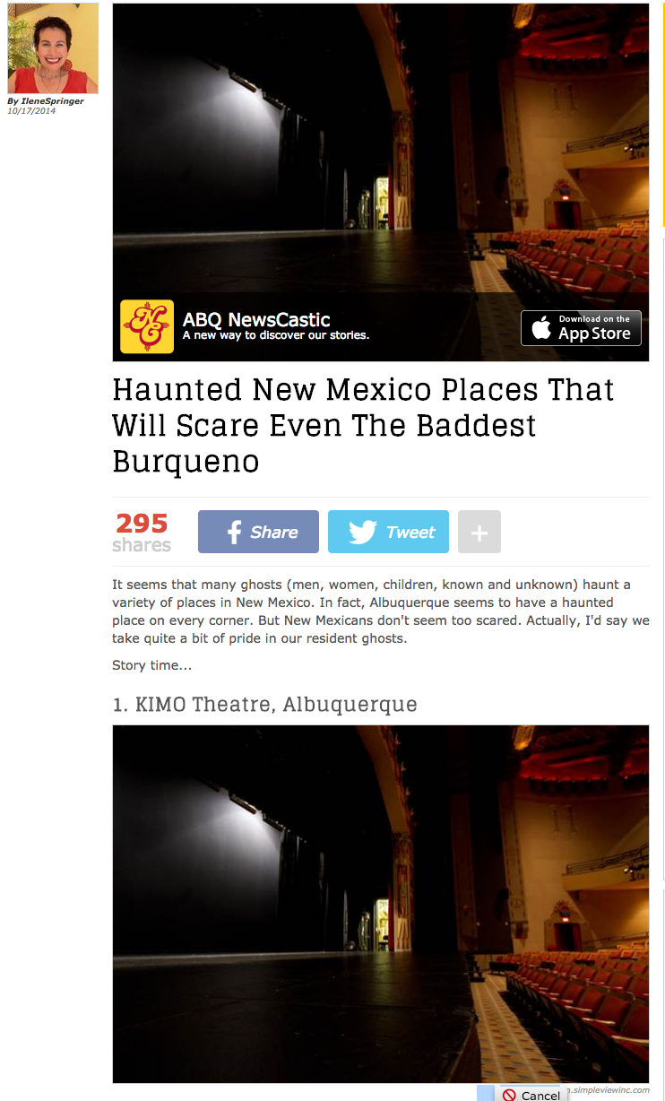 Haunted New Mexico Places That Will Scare Even The Baddest Burqueno